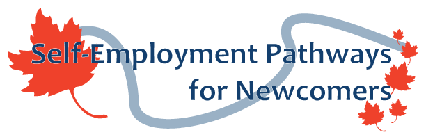 Self-employment Pathways for Newcomers logo